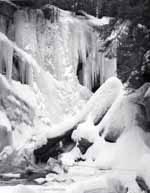 Cavendish Gorge, Vermont, 1981, Winter