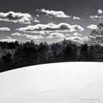 Curved Snow Hill, Ascutney