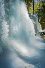 Frozen Waterfall Cliff I